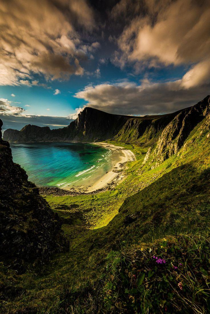 The hidden beach ~ Norway