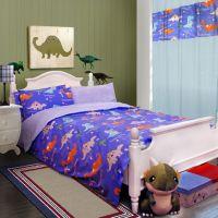 Dinosaurs Blue Dinosaur Bedding Set | Dinosaur Bedding ...