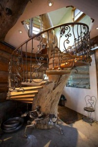 tree stairs | Stairs | Pinterest