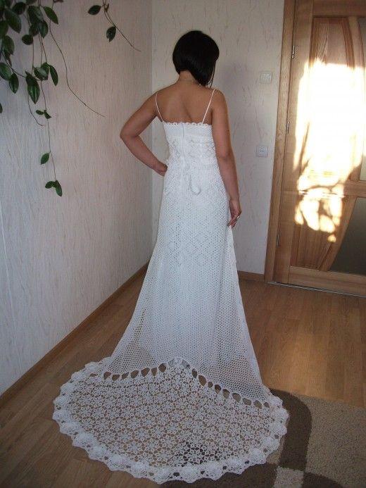 crochet wedding dresses