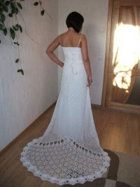 crochet wedding dresses | Crochet Wedding | Pinterest