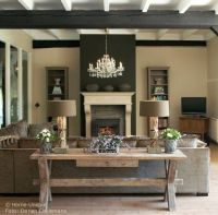 Rustic & Elegant living room | Living rooms | Pinterest