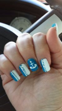 Cruise Nails | nail art | Pinterest
