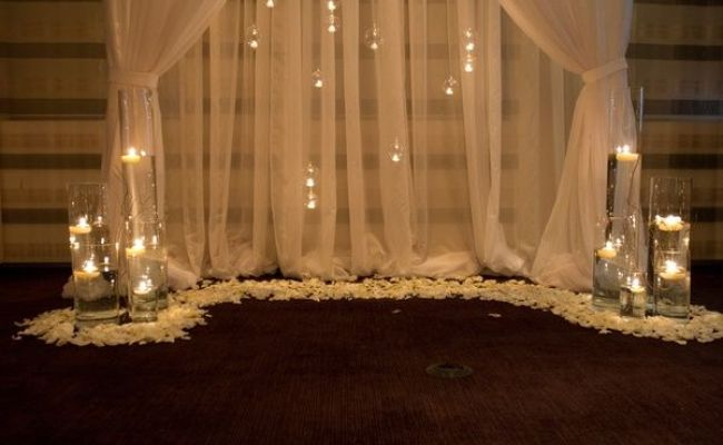 Ceremony Backdrop Wedding Pinterest
