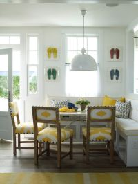 kitchen banquette | Kitchen re-do | Pinterest