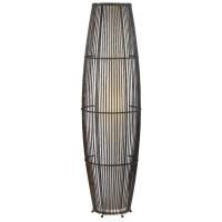 Rattan Floor Lamp. | Design: Furniture | Pinterest