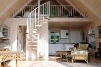 living room with sleep loft | Interior Decor | Pinterest