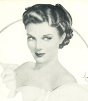 1940 glamour 1940s hair styles