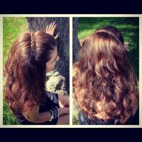 Braided hair band | Fashion | Pinterest