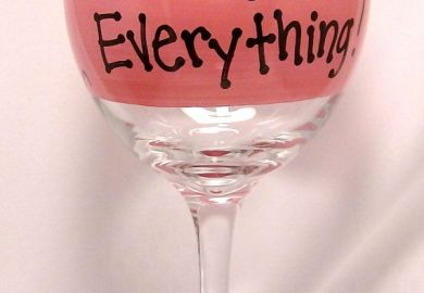 Painted Wine Glass Ideas Christmas