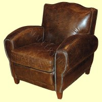 Distressed Leather Arm Chair | For the Home | Pinterest