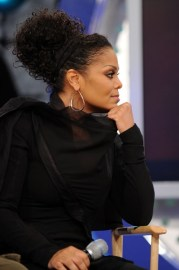 love curly updo. janet