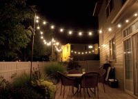 String Lighting Idea For Outdoor Deck | Outdoors | Pinterest