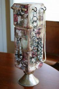 DIY Jewelry Holder | Crafts | Pinterest