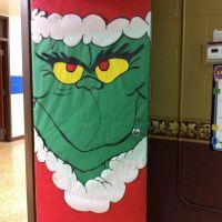 grinch door decorations - 28 images - grinch door ...