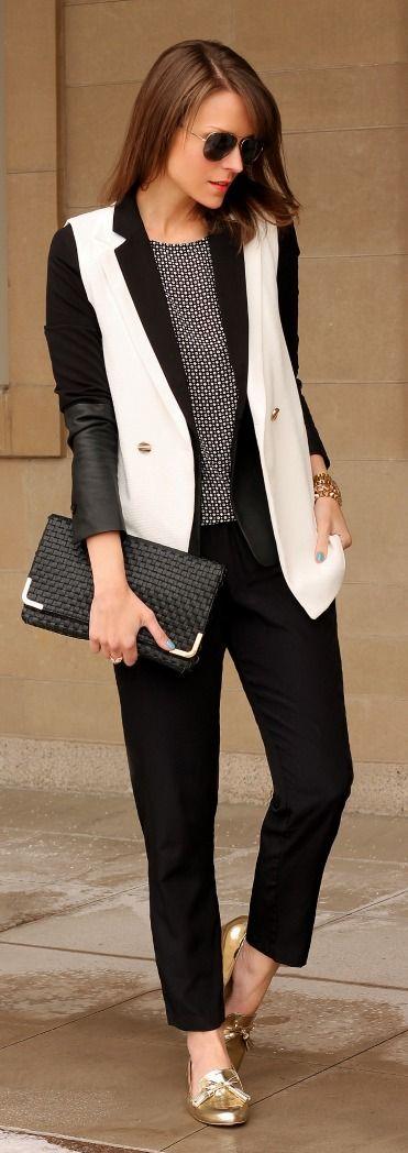 Black + White Style