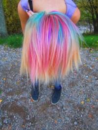 Multi-colored hair c: | Beautification Ideas! | Pinterest