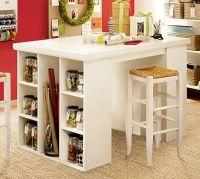 Craft table. IKEA hack. | craft room ideas | Pinterest