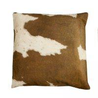Cowhide Pillow - Brown and White | For the Home | Pinterest