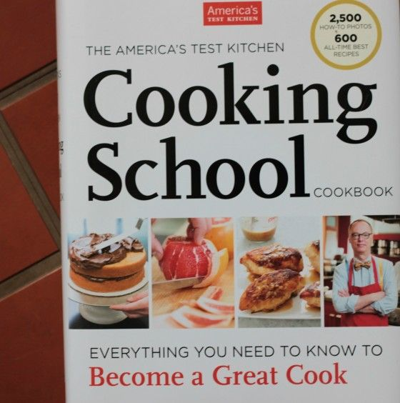 Americas Test Kitchen Cooking School Cookbook Giveaway