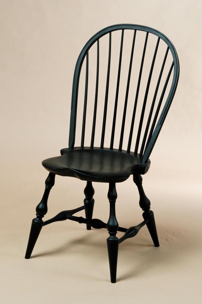 Black Crackle Paint Windsor Chair  Cozy  Pinterest