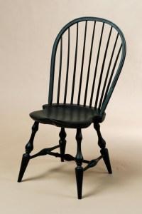 Black Crackle Paint Windsor Chair   Cozy!   Pinterest