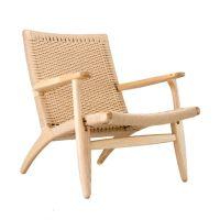 Modern Woven Lounge Chair