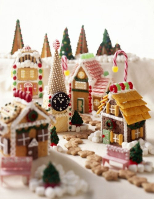 Home Design Image Ideas Gingerbread House Village Ideas