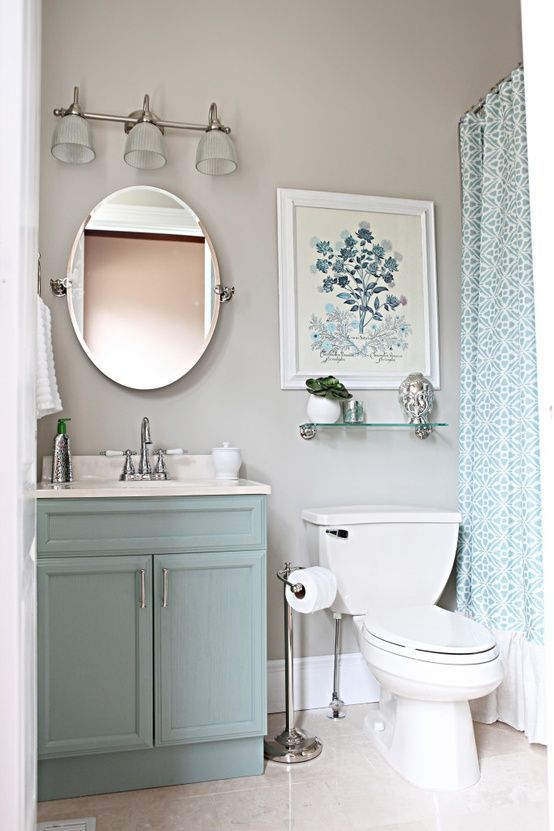 Simple small bathroom