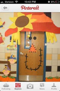 Cute Halloween Door Decoration