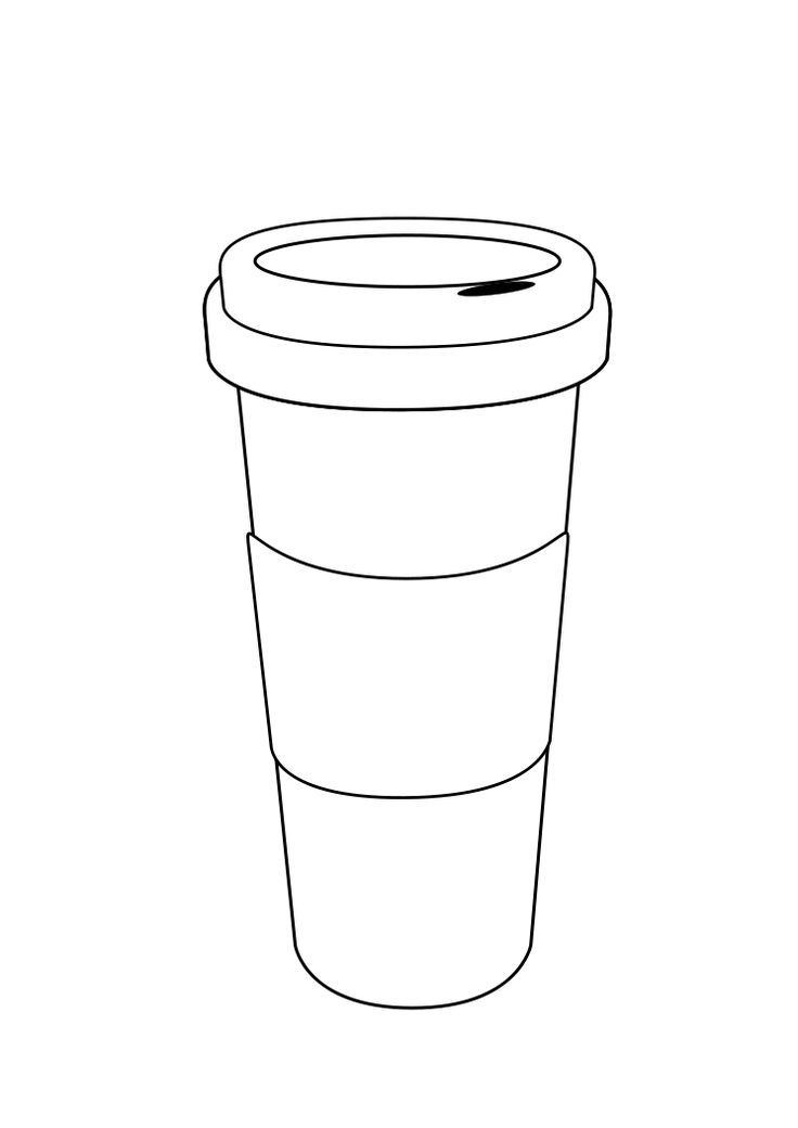 starbucks coffee cups coloring page coloring pages