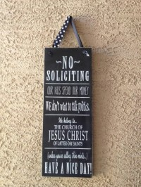 Front door sign | Funny | Pinterest