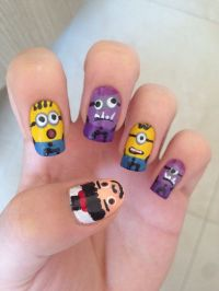 Nail Art Minions | Nail Art Designs
