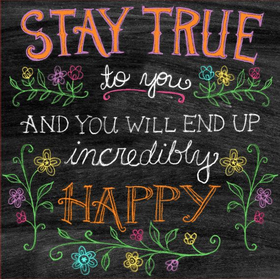 Colorful Inspirational Chalkboard Quotes. QuotesGram