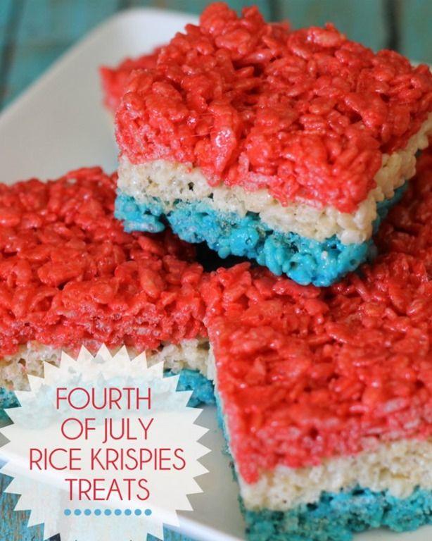 4th of July Food & Recipe Ideas.