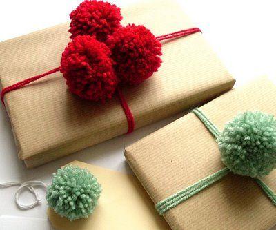 Pom pom wrapping