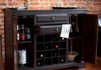 Belham Living Carlow Espresso Home Bar Hayneedle