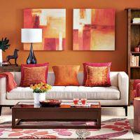 Orange | Living Room ideas | Pinterest