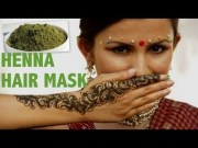 henna hair treatment beautiful