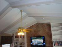 white ceiling beams | Home/DIY | Pinterest