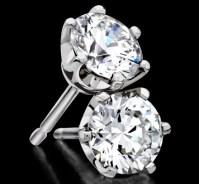 Diamond Solitaire Earrings   Jewelry   Pinterest