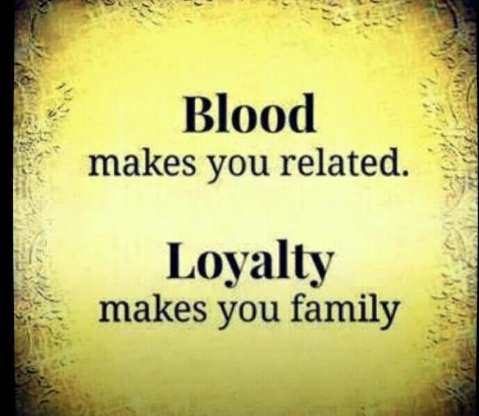 Not Blood Related Family Quotes