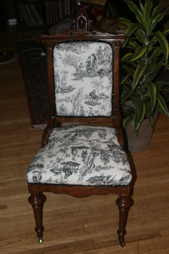 reupholstering antique chairs  For the Home  Pinterest