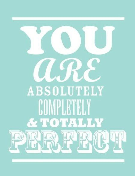 I hope not bc #Perfect is #Boring!