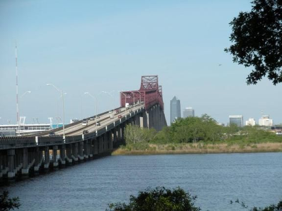 Mathews bridge Jacksonville FL  Bridges  Pinterest