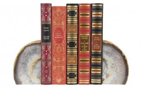 Agate Bookend; $32 Jayson Home