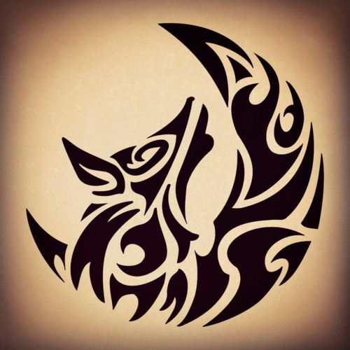 20 Wolf Henna Inspired Tattoos Ideas And Designs