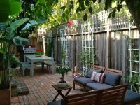 Apartment therapy | Small yard landscaping | Pinterest