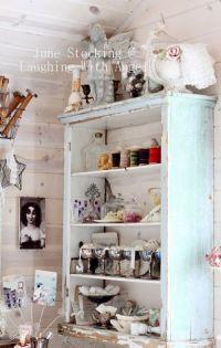 Shabby Chic Craft Room | Scrapbook Rooms/Organization ...