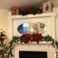 Christmas mantle decor christmas bazaar ideas pinterest